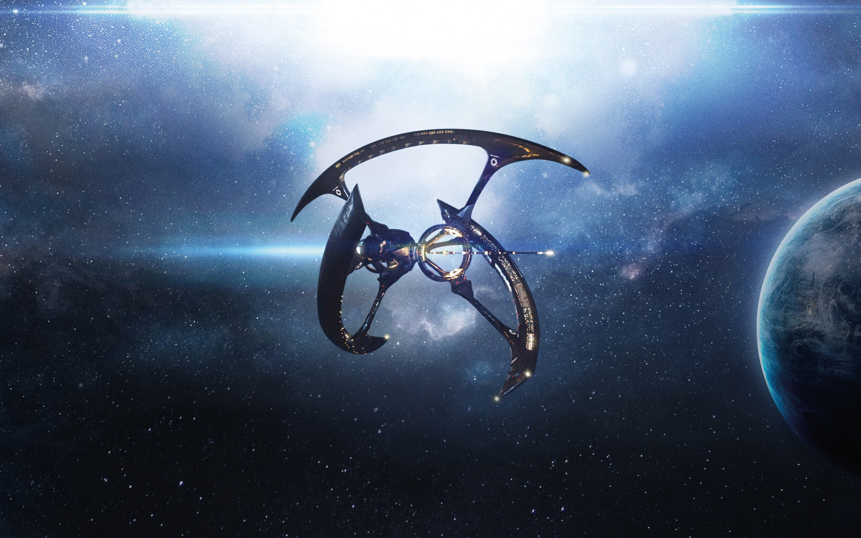 Avatar movie space ships wallpapers 56 wallpapers for Passengers spaceship