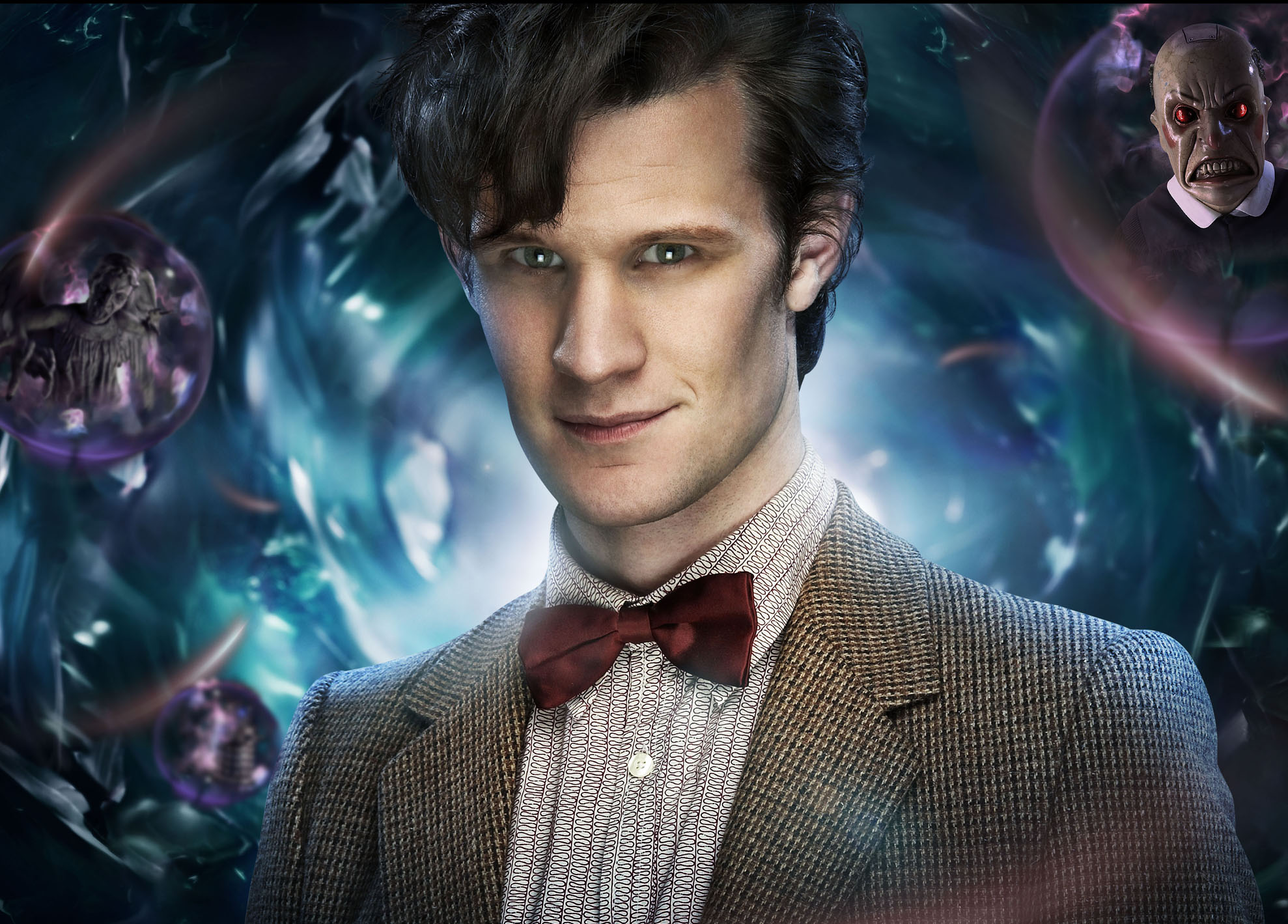 Televisieprogramma - Doctor Who  - Eleventh - Ties - Bow - Smith - Matt - Who - Doctor Achtergrond