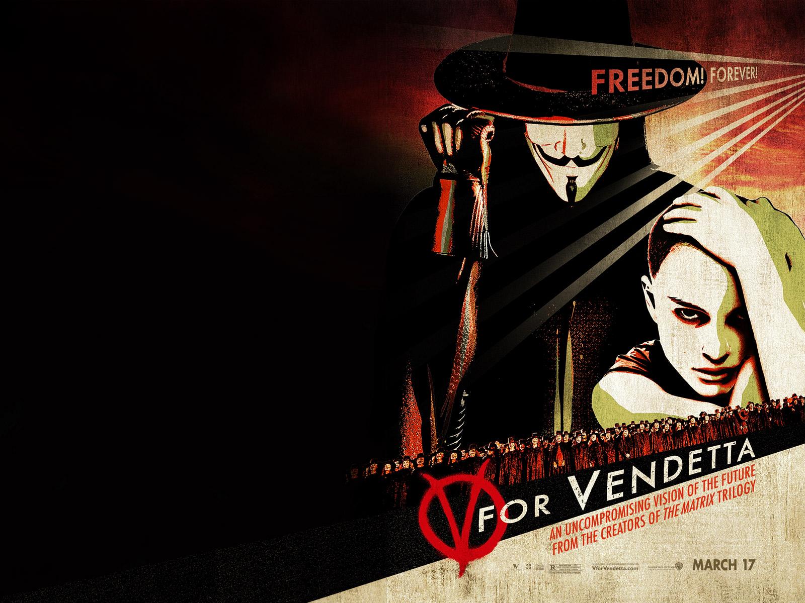 V For Vendetta Movie Wallpaper V For Vendetta Compute...