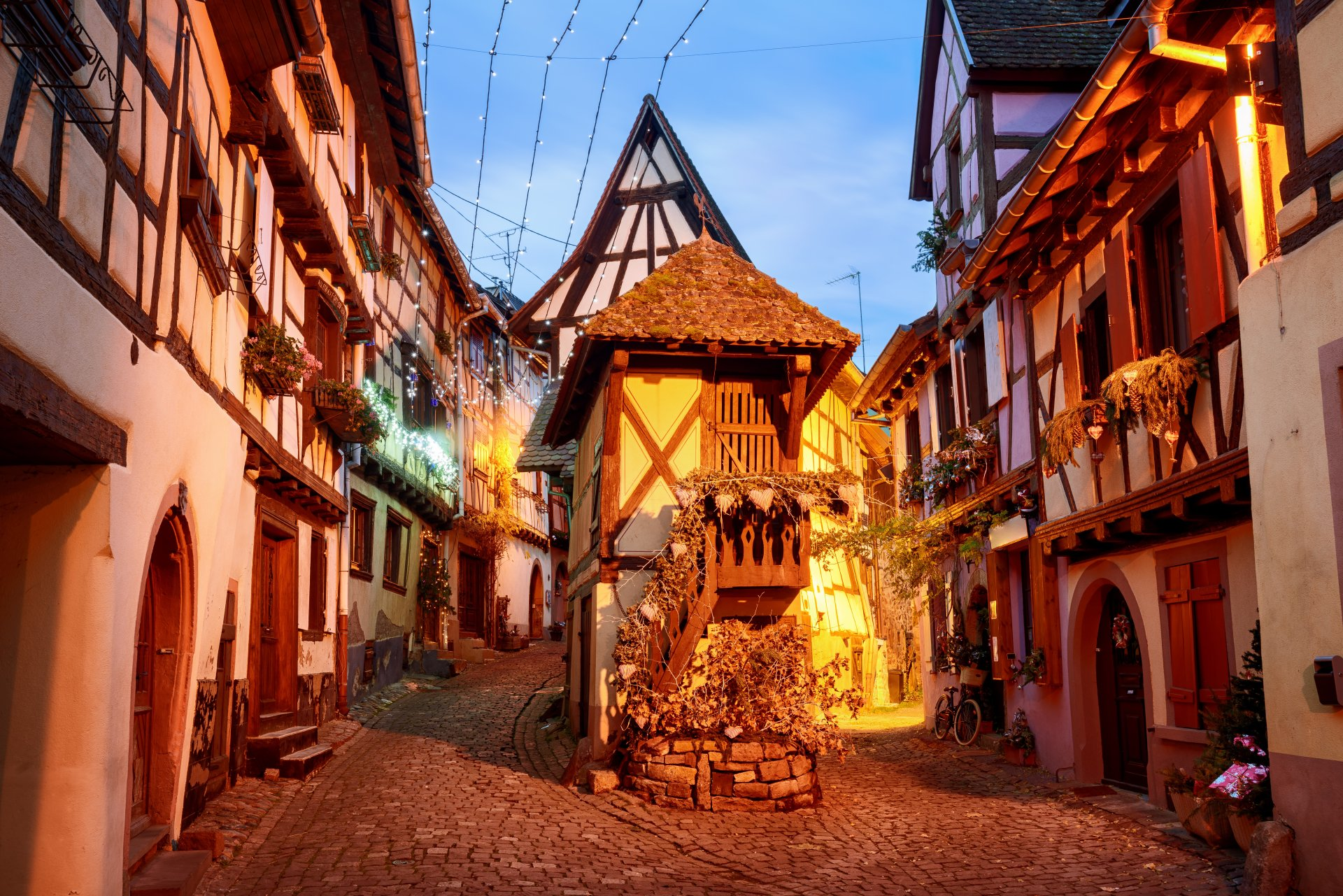 Man Made - Colmar  Town France Building House Wallpaper