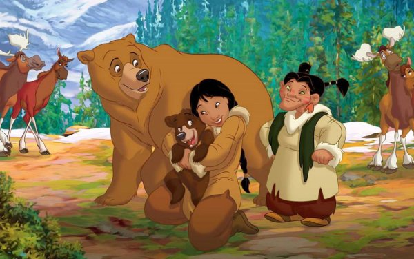 Movie Brother Bear 2 HD Wallpaper | Background Image