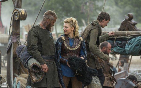 TV Show Vikings Katheryn Winnick Lagertha Ragnar Lothbrok HD Wallpaper | Background Image