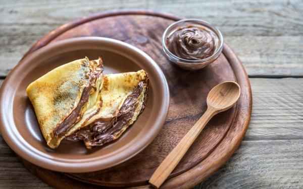 Food Crêpe Nutella HD Wallpaper | Background Image