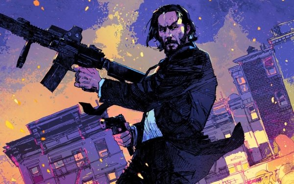 Movie John Wick: Chapter 2 Keanu Reeves HD Wallpaper | Background Image