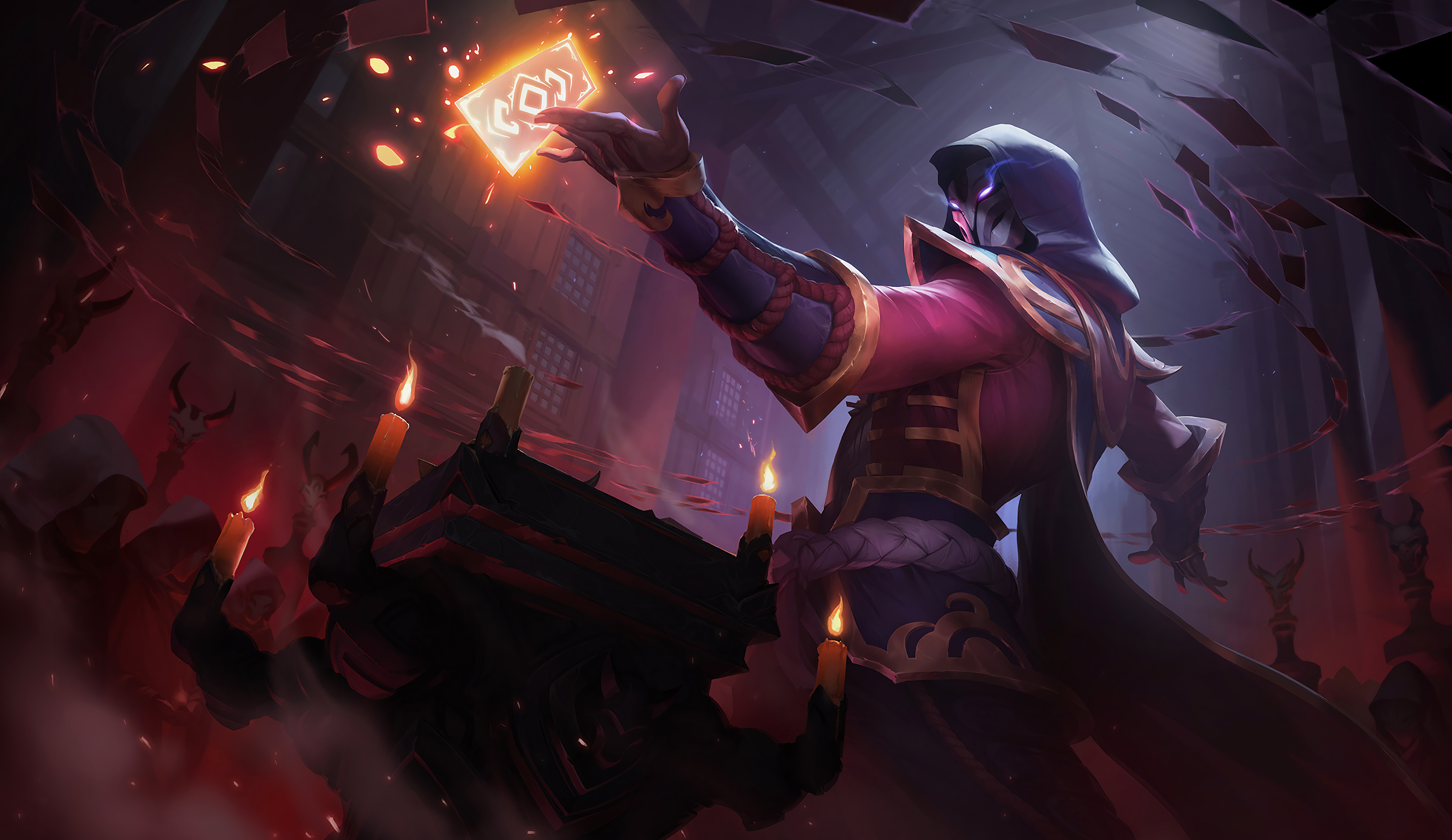 43 Twisted Fate League Of Legends Hd Wallpapers Background