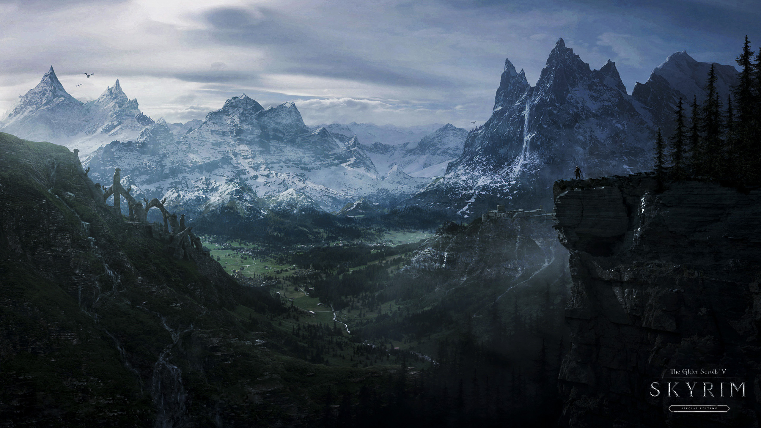 skyrim 1980 x 1040 wallpaper - photo #15