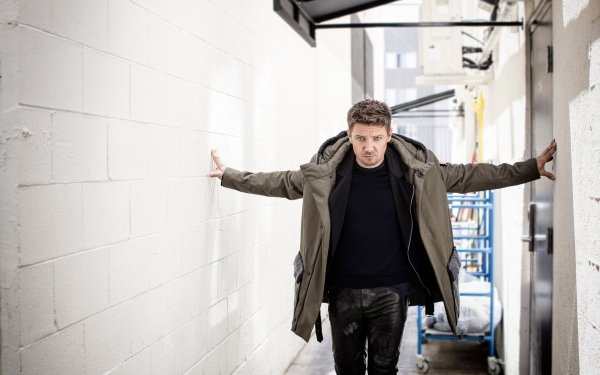 Celebrity Jeremy Renner Actor American HD Wallpaper | Background Image