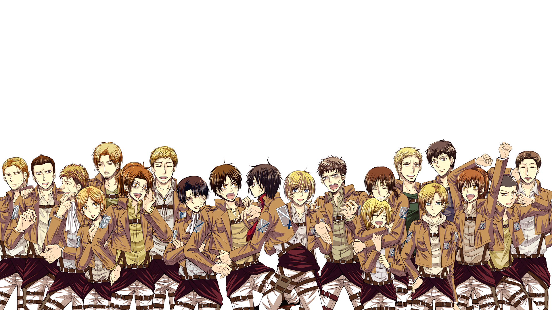 Attack On Titan Hd Wallpaper Background Image 1920x1080 Id 804477 Wallpaper Abyss