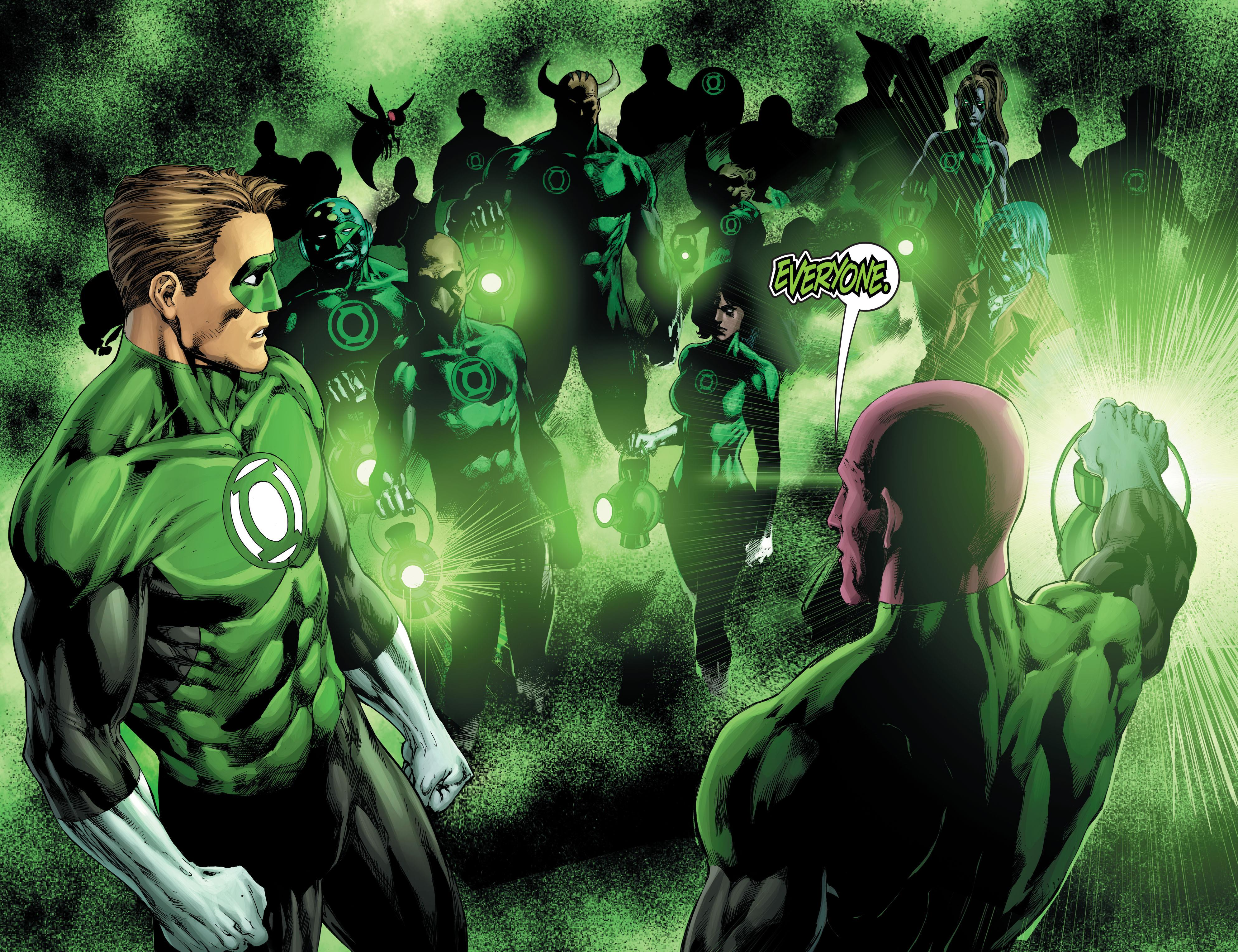 Green Lantern Comic Wallpaper: Green Lantern Corps 4k Ultra HD Wallpaper
