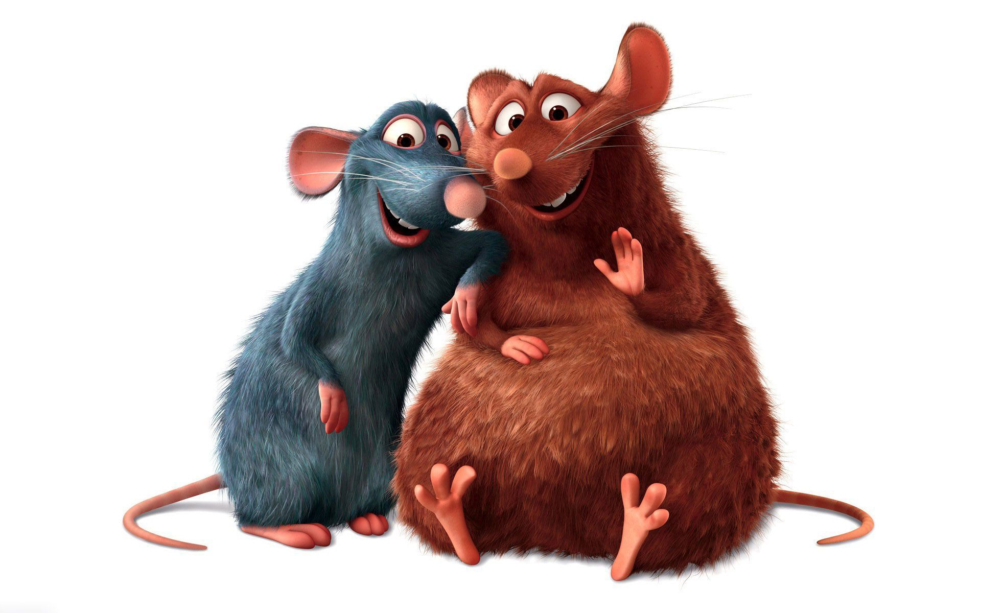 Ratatouille Remy And Emile Hd Wallpaper Background Image