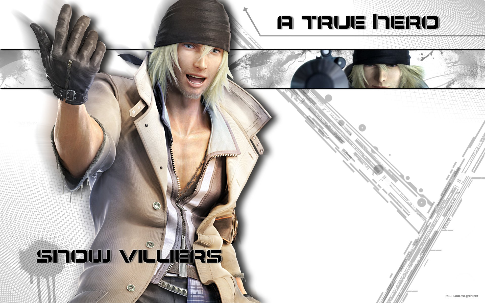 Video Game - Final Fantasy XIII  Snow Villiers Wallpaper