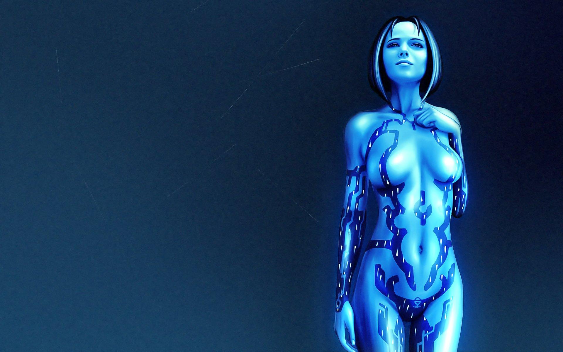 电子游戏 - 光晕  Cortana (Halo) Hologram 壁纸