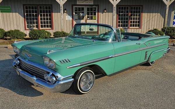 Vehicles Chevrolet Impala Convertible Chevrolet Lowrider HD Wallpaper | Background Image