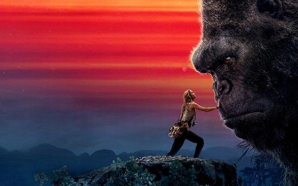 Películas Kong: La Isla Calavera Brie Larson Gorila King Kong Fondo de pantalla HD | Fondo de Escritorio