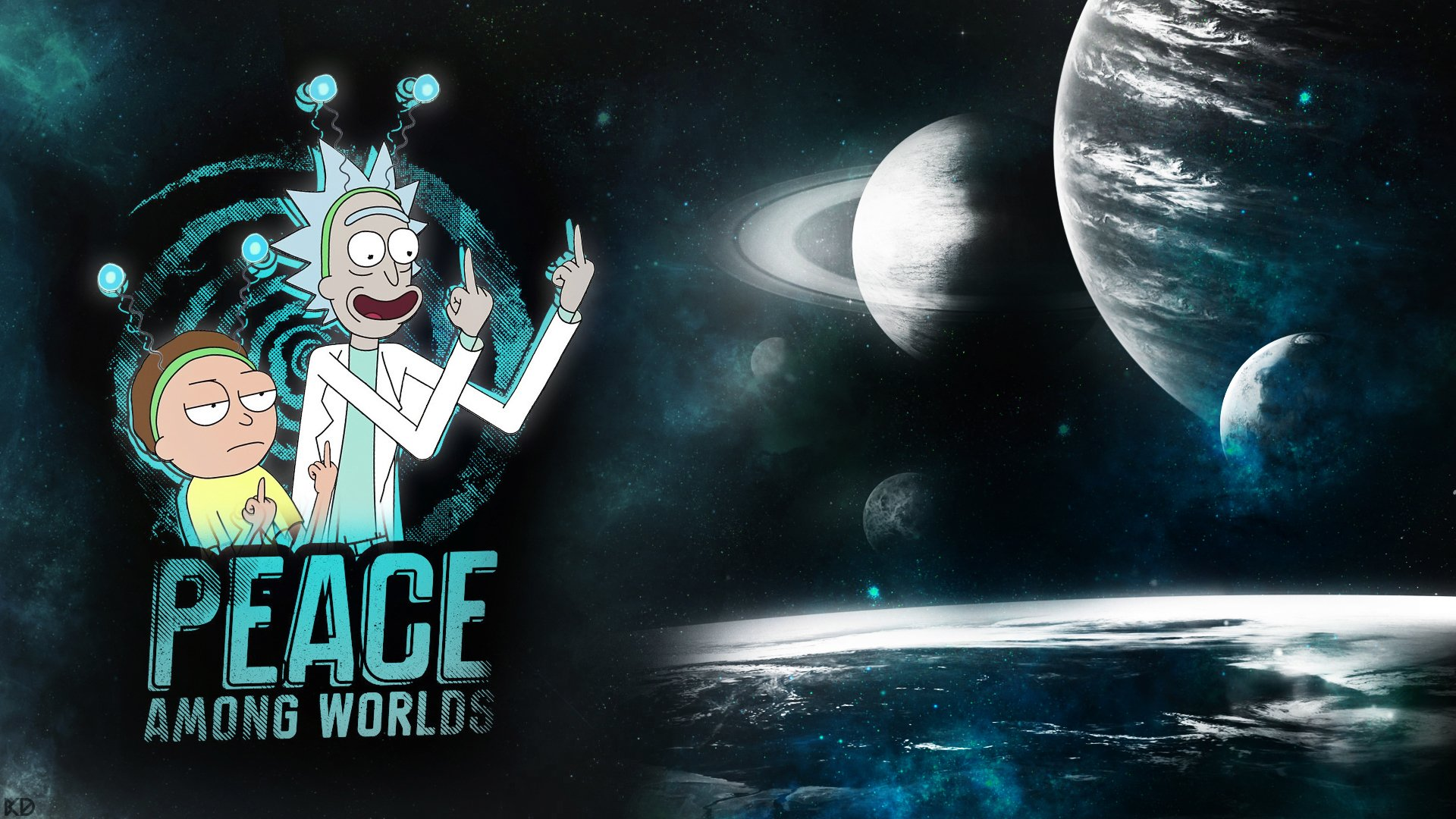 288 Rick And Morty Hd Wallpapers Background Images Wallpaper Abyss