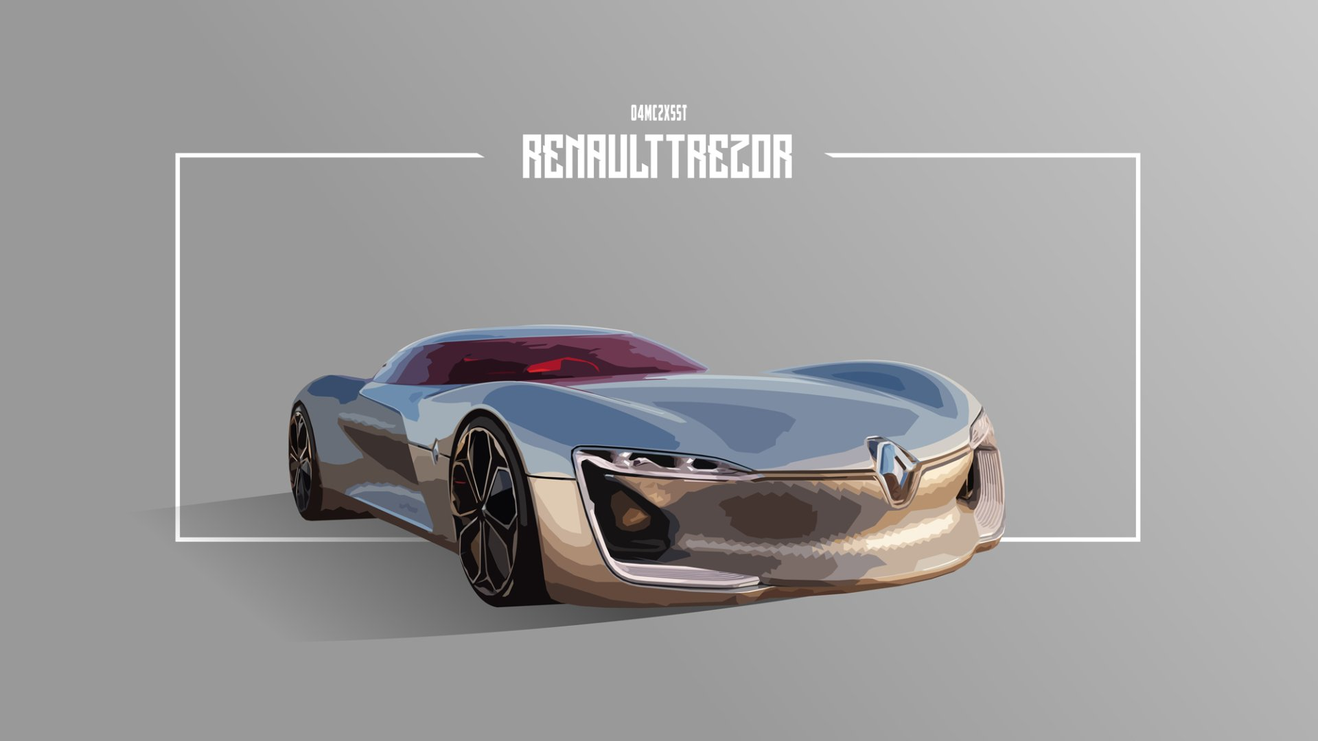 Vehicles - Renault  Car Concept Car Artwork Race Car Futuristic Wallpaper