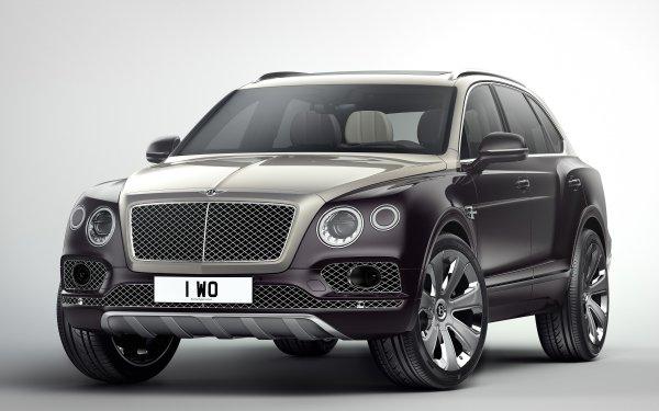 Véhicules Bentley Bentayga Bentley SUV Luxury Car Voiture Purple Car Fond d'écran HD | Image