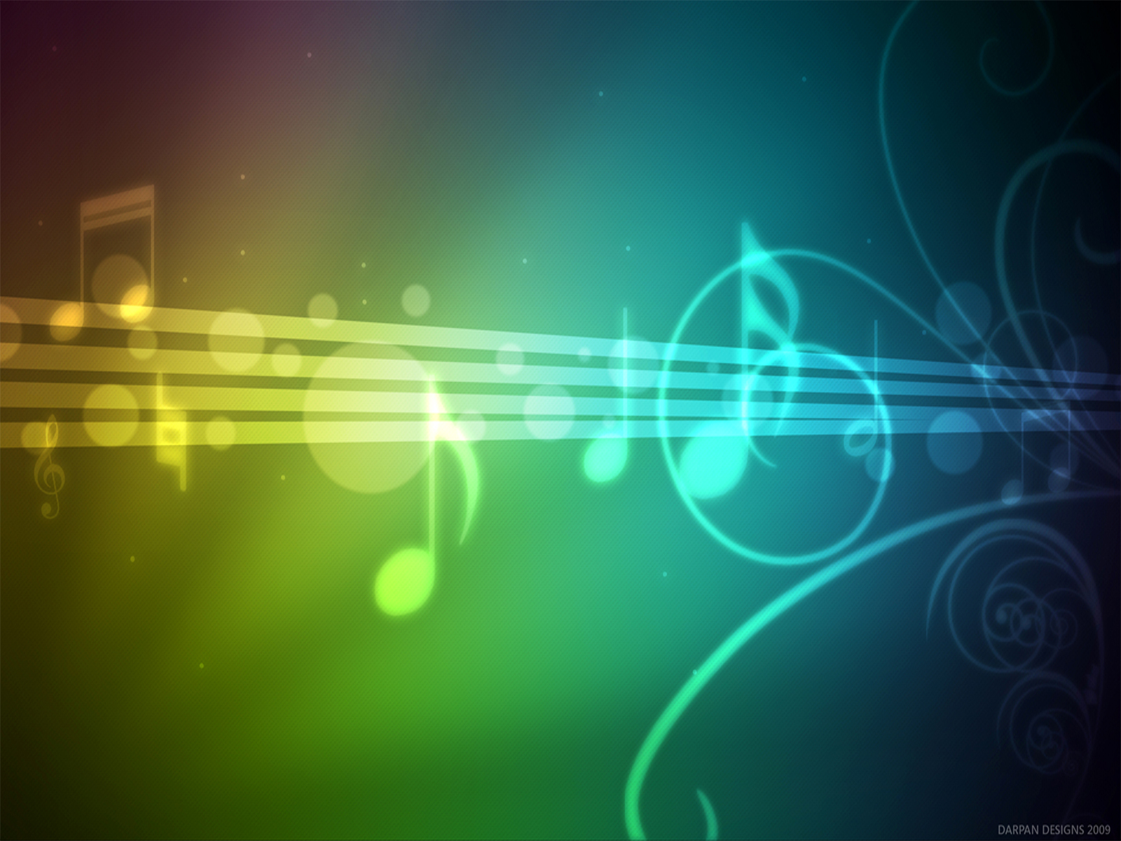 Blue Music Notes Backgrounds  Wallpaper Cave