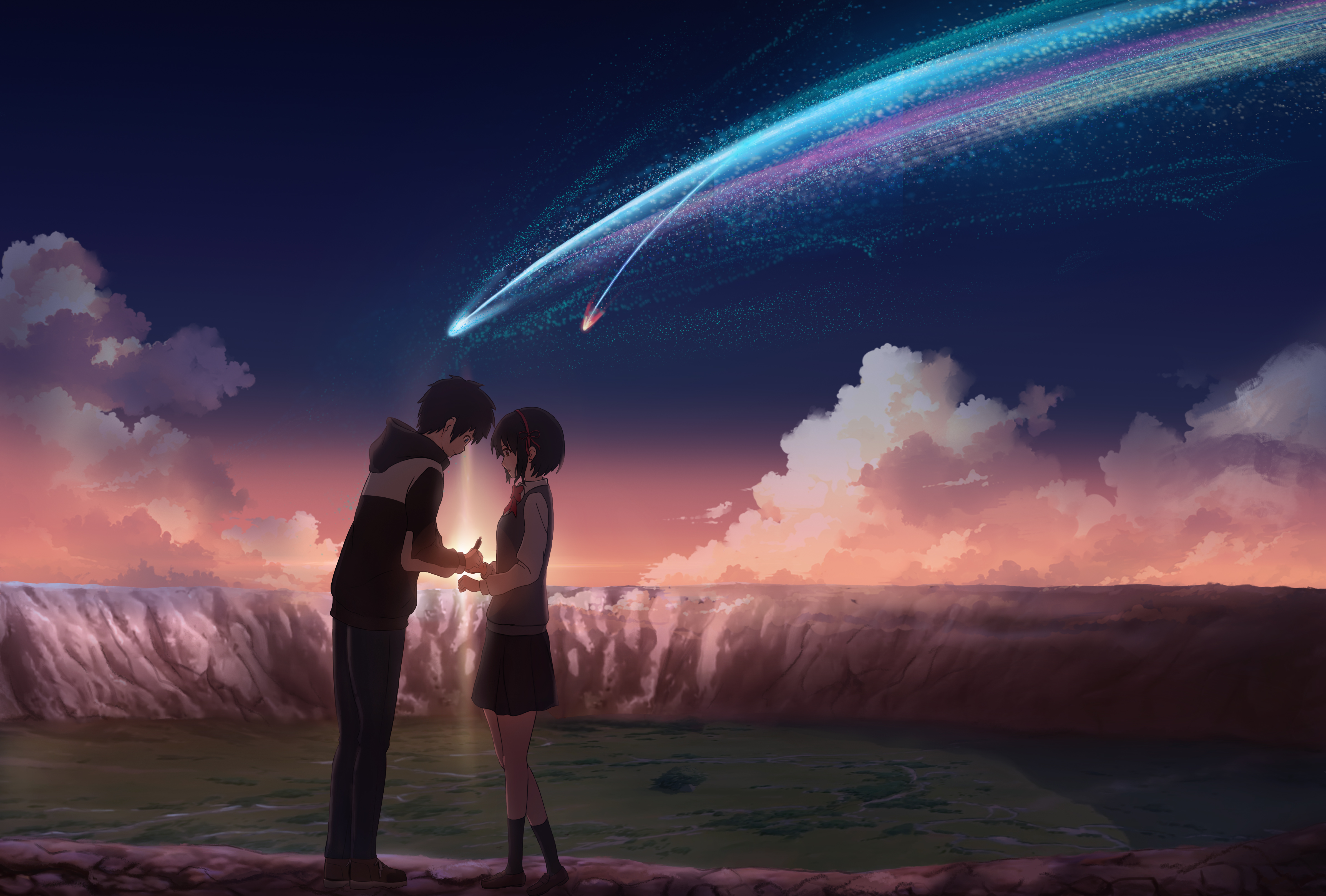 85 4k Ultra Hd Kimi No Na Wa Wallpapers Background Images Wallpaper Abyss