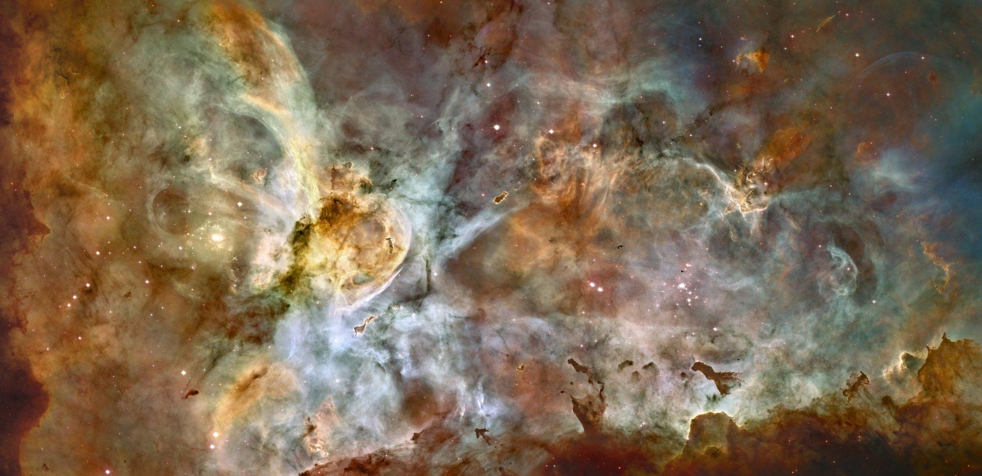 Science-Fiction - Nebel  Wallpaper