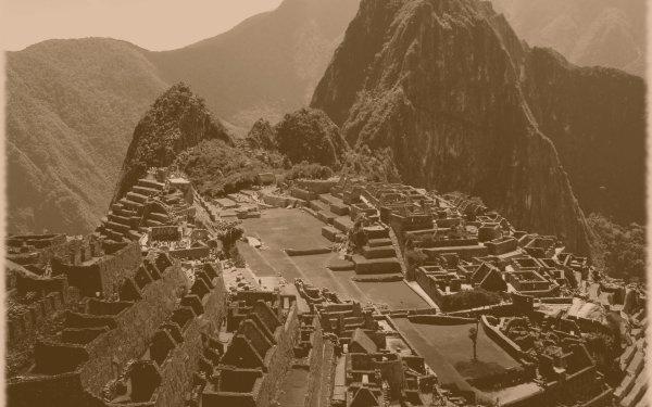 Man Made Machu Picchu Monuments Landscape Inca Peru HD Wallpaper | Background Image