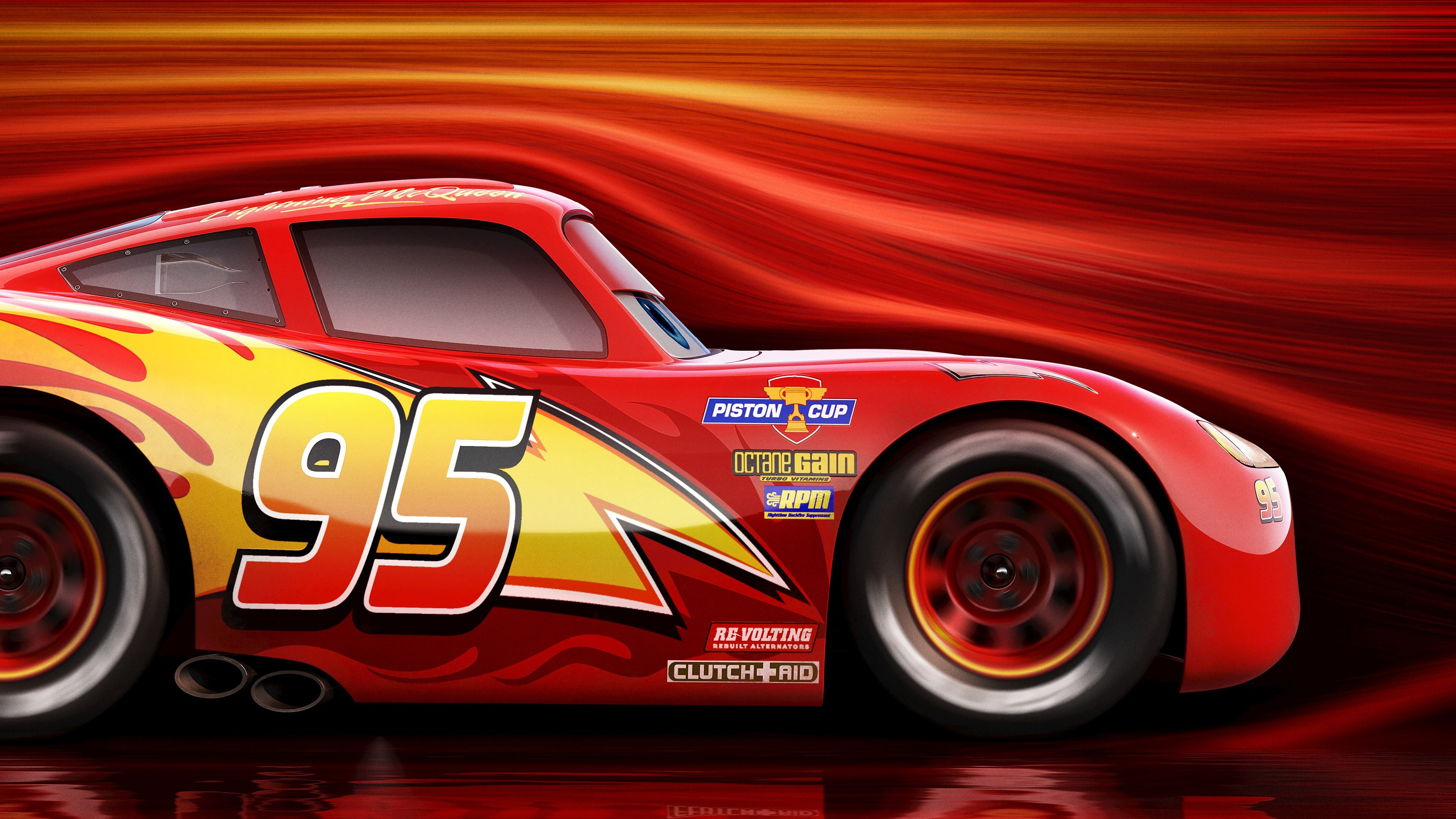 30 lightning mcqueen hd wallpapers | background images - wallpaper abyss