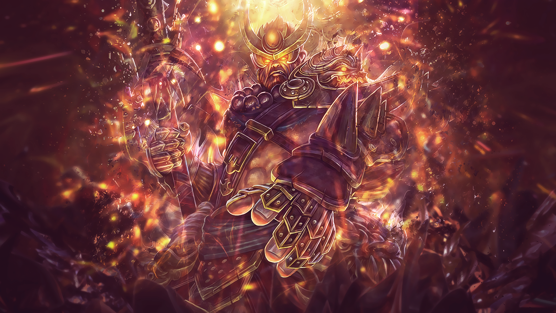 heavenly warlord sun wukong smite full hd wallpaper and
