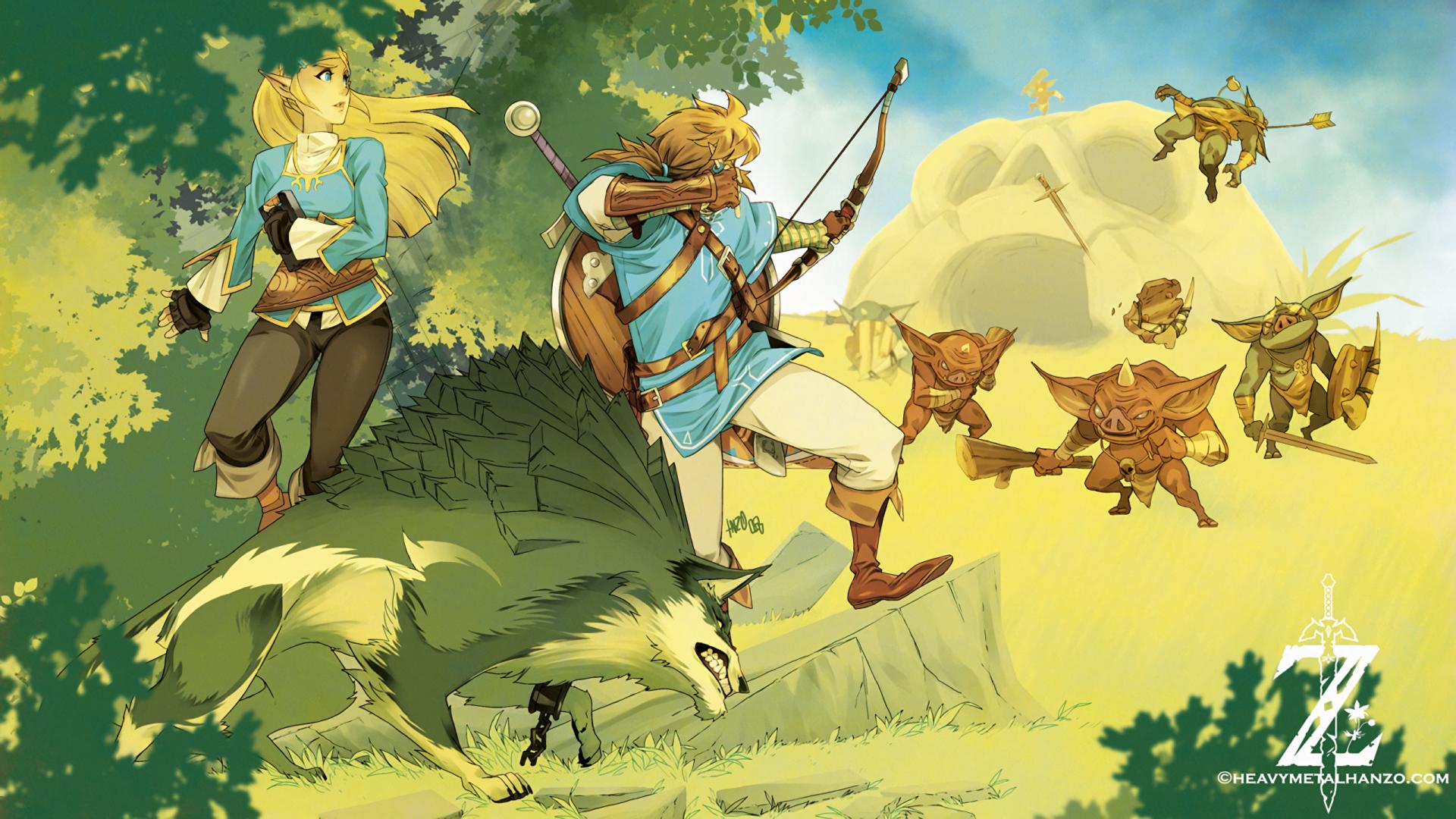 The Legend Of Zelda: Breath Of The Wild HD Wallpaper