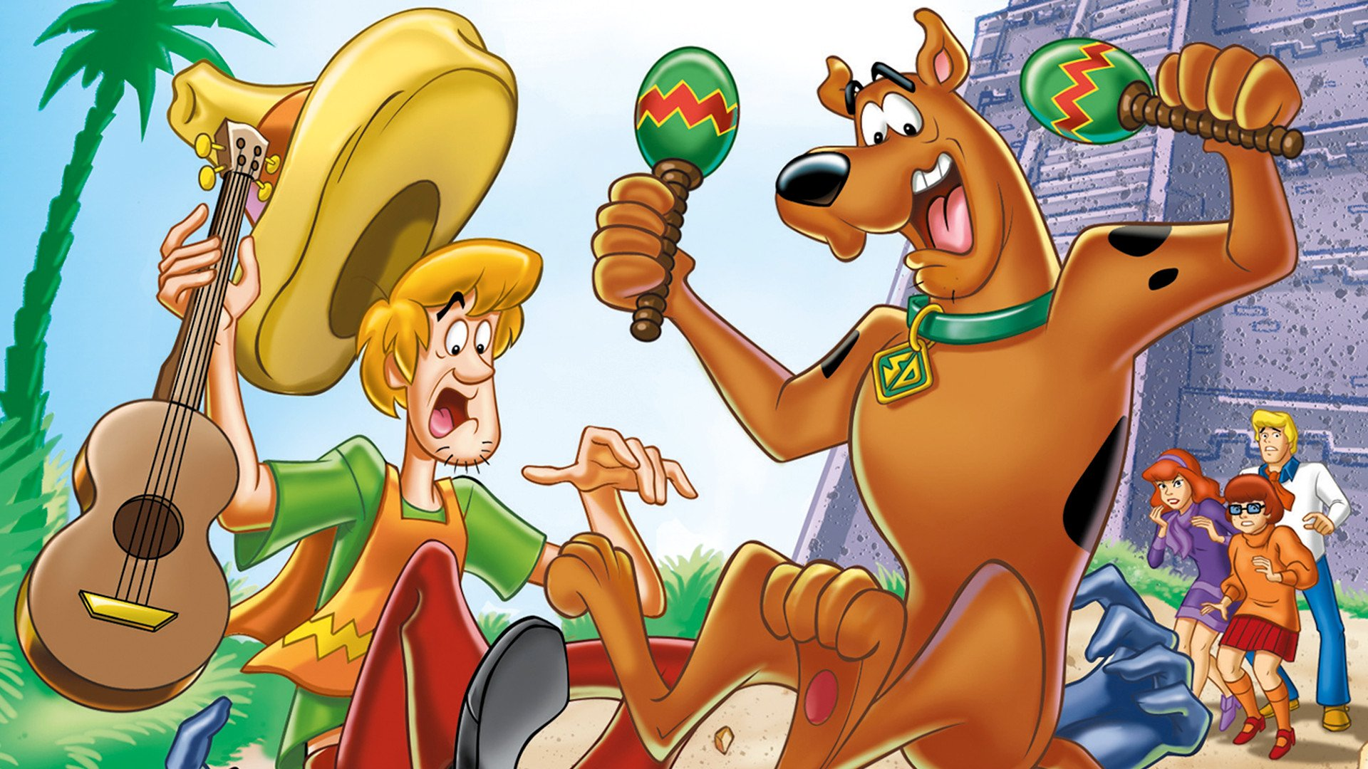Scooby Doo Movie Cartoon Hd Wallpaper Image For Iphone: Scooby-Doo And The Monster Of Mexico HD Wallpaper