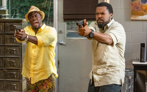 Movie Ride Along 2 Kevin Hart Ice Cube HD Wallpaper | Background Image