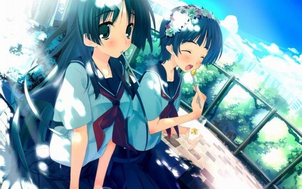 Anime A Certain Scientific Railgun A Certain Magical Index Ruiko Saten Kazari Uiharu HD Wallpaper | Background Image