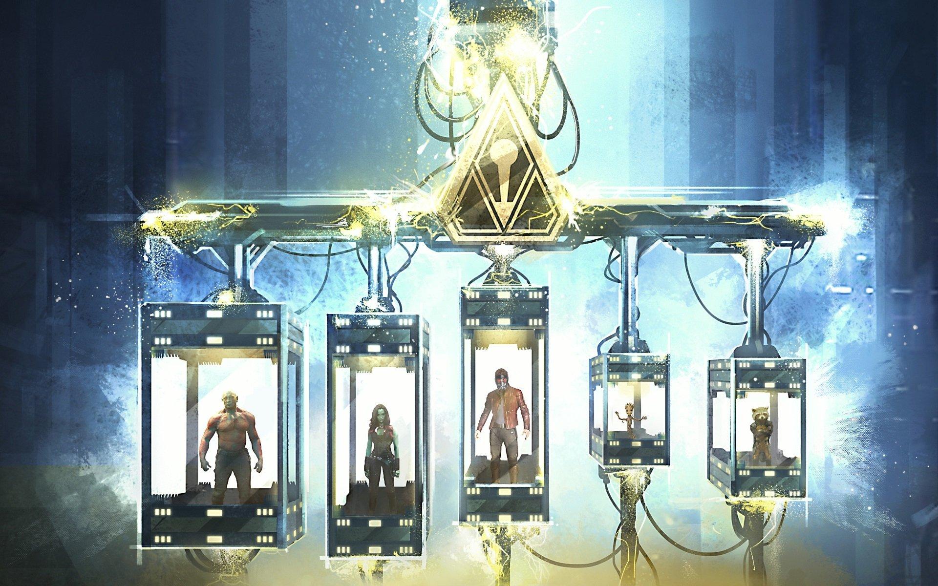 Movie - Guardians of the Galaxy Vol. 2  Chris Pratt Zoe Saldana Dave Bautista Gamora Star Lord Groot Rocket Raccoon Drax The Destroyer Wallpaper
