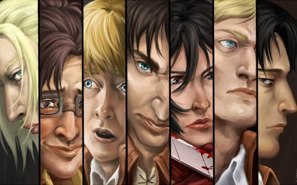 Anime Attack On Titan HD Wallpaper   Background Image