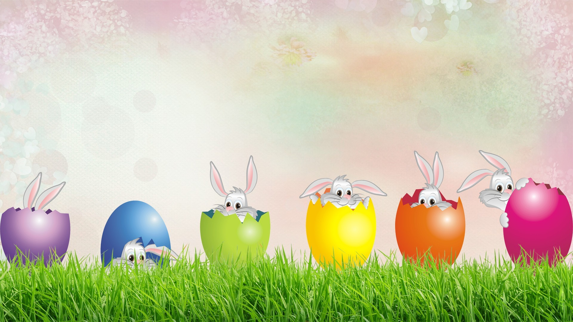 Happy easter hd wallpaper background image 1920x1080 - Easter bunny wallpaper ...