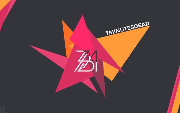 Musique 7 Minutes Dead Abstrait Vecteur EDM Triangle Fond d'écran HD | Image