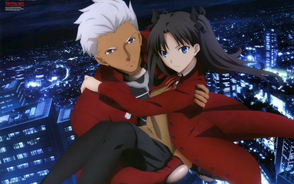 Anime Fate/Stay Night: Unlimited Blade Works Fate Series Archer Rin Tohsaka HD Wallpaper | Background Image