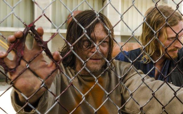 TV Show The Walking Dead Norman Reedus Daryl Dixon Austin Amelio Dwight HD Wallpaper | Background Image