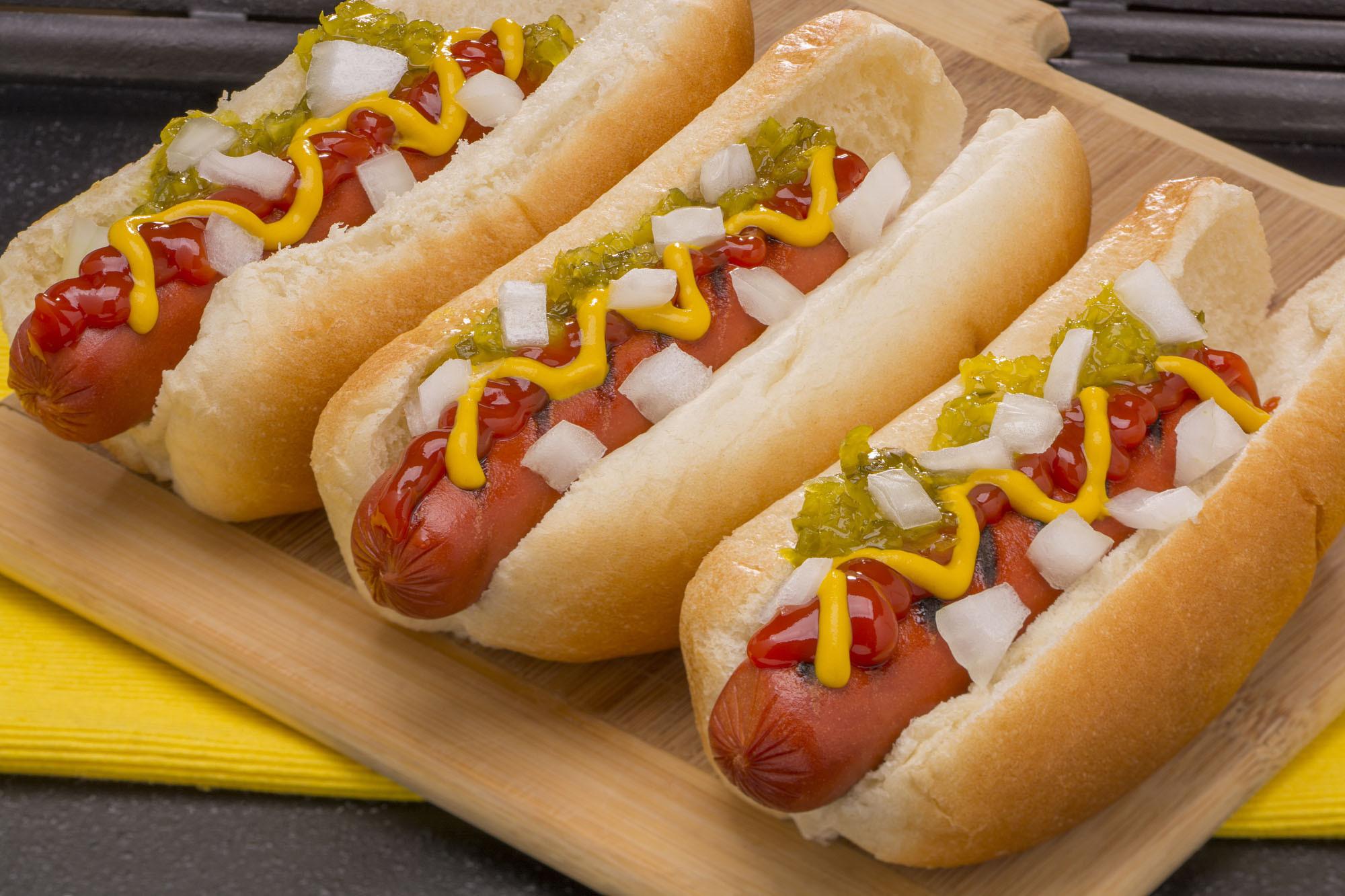 All American Hot Dog Fondo De Pantalla Hd Fondo De