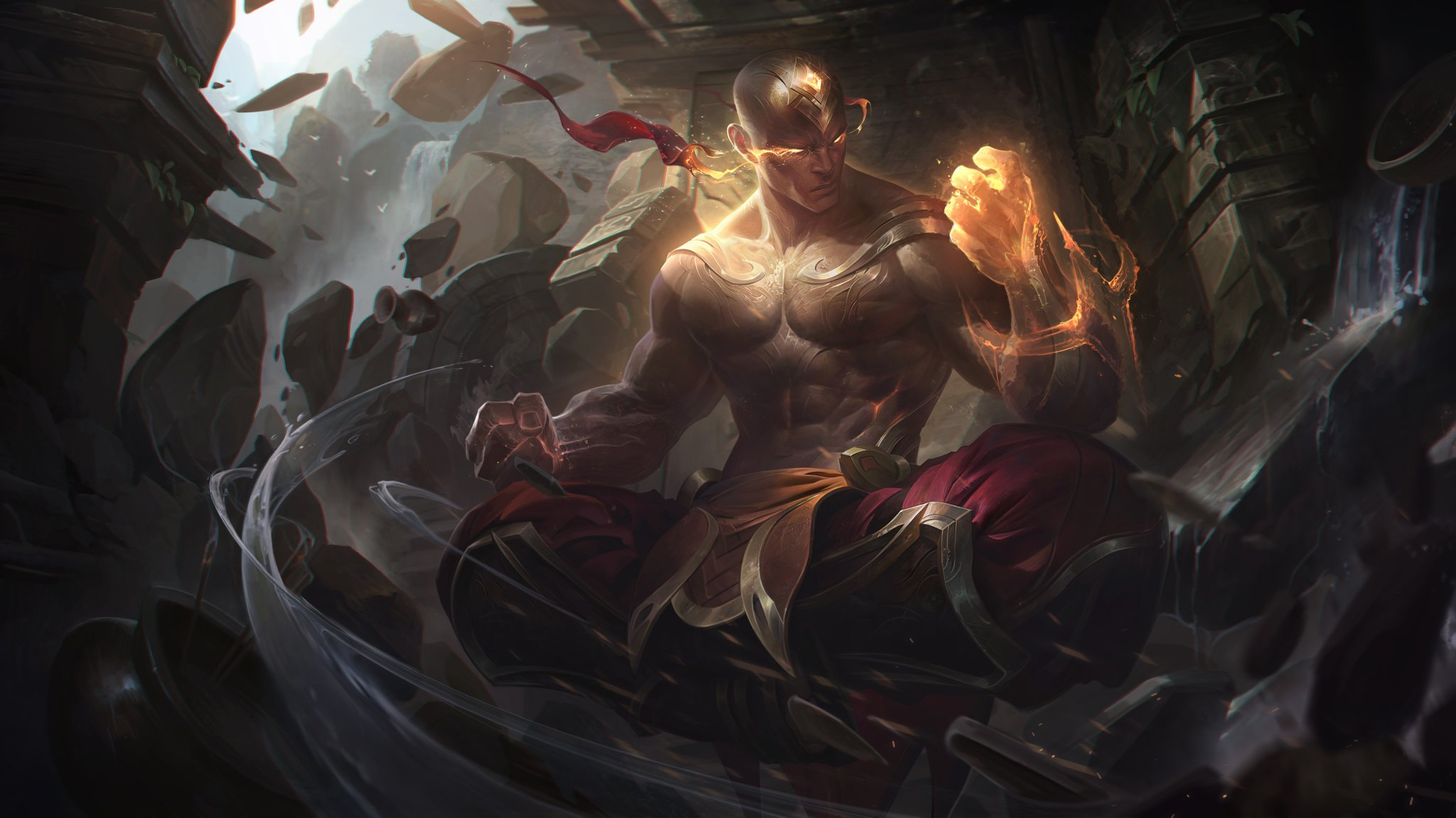 59 Lee Sin League Of Legends Hd Wallpapers Background Images