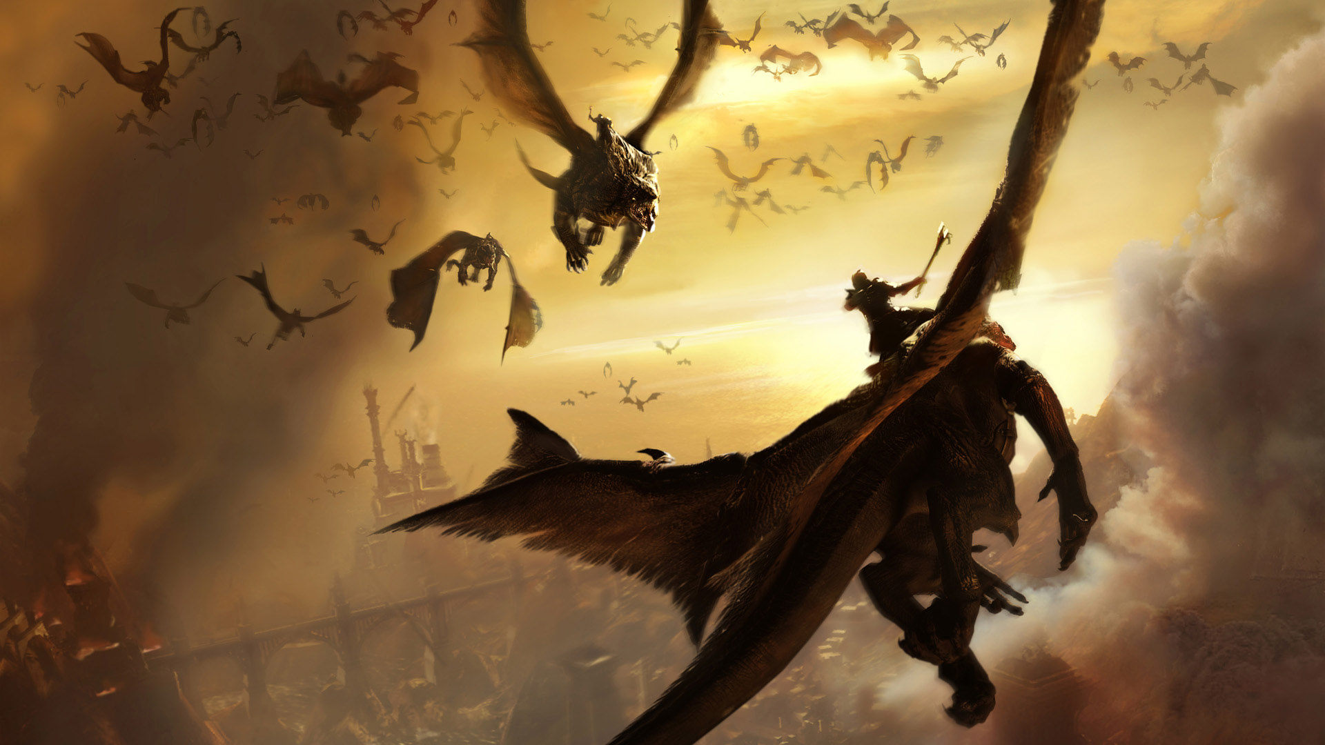 Dragon Full Hd Wallpaper And Background 1920x1080 Id 81908