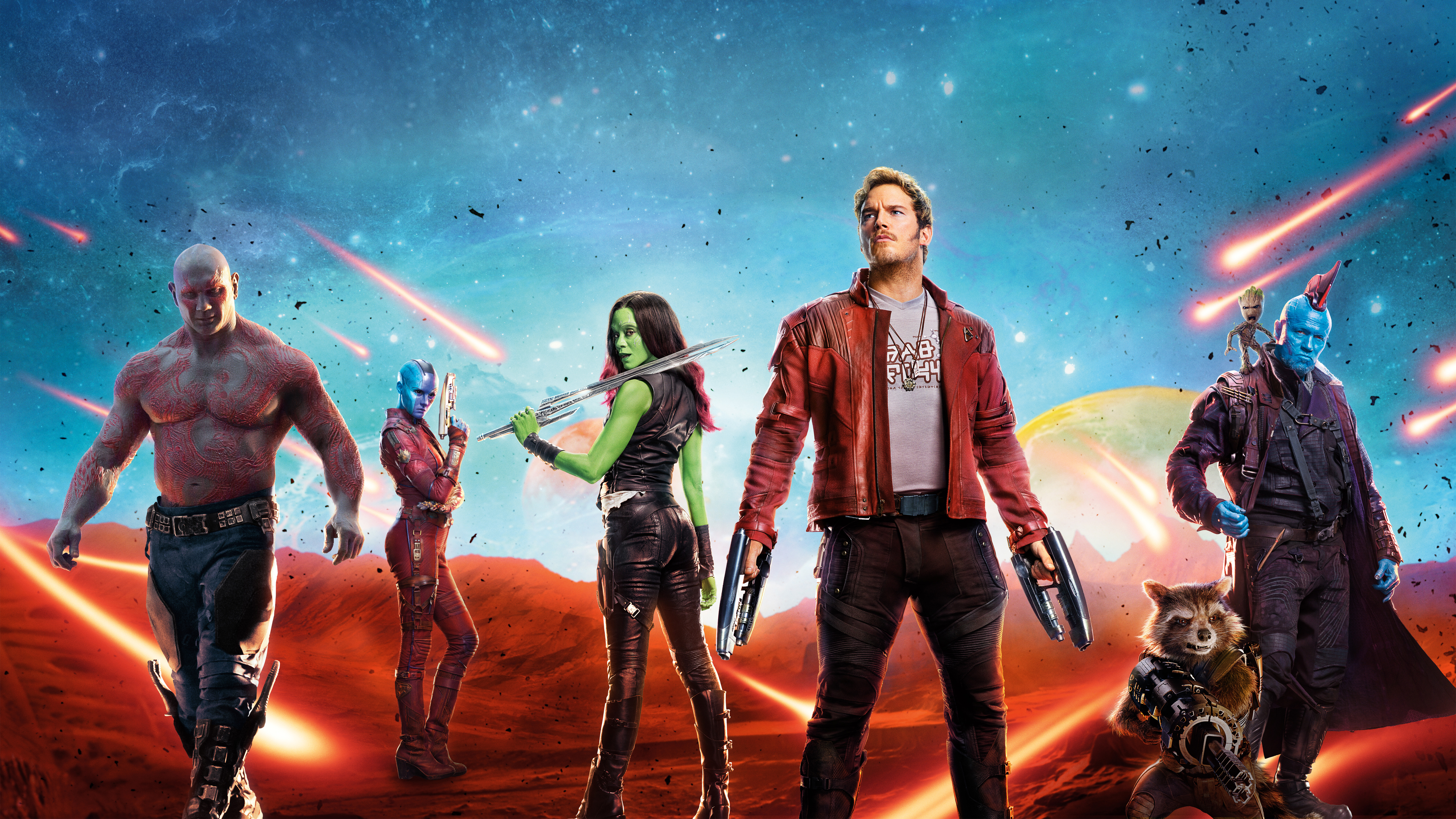 3840x1080 guardians of the galaxy