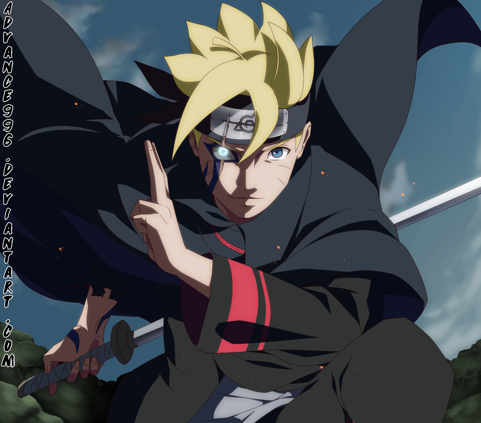 305 Boruto Uzumaki HD Wallpapers