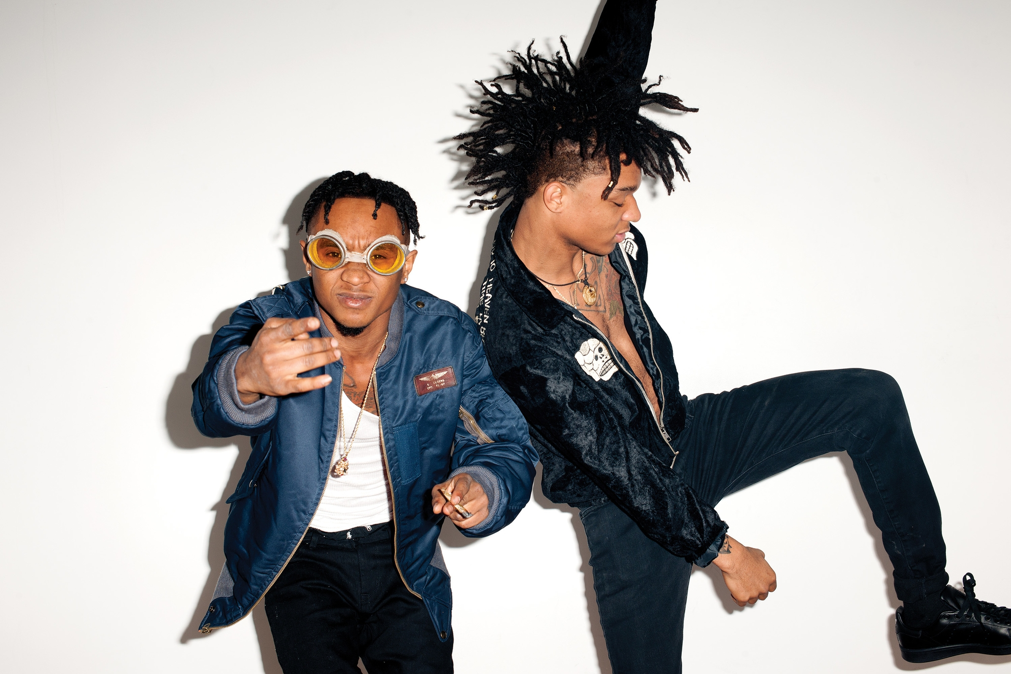 Rae Sremmurd Is An American Hip Hop Duo Fond Décran Hd Arrière