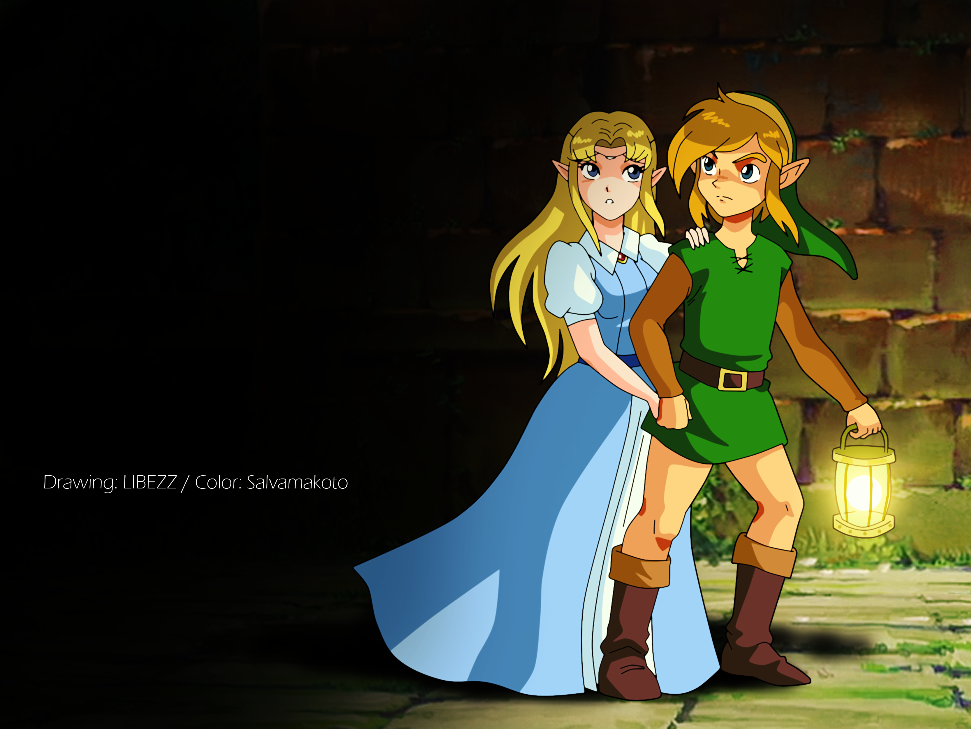 The Legend Of Zelda A Link To The Past Hd Wallpaper Hintergrund