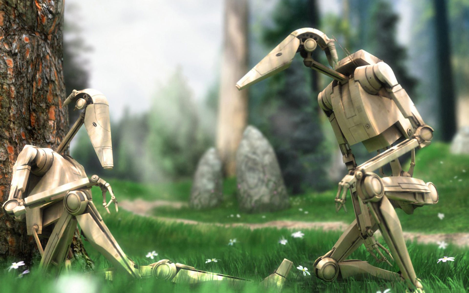 9 Battle Droid Star Wars Hd Wallpapers Background Images Wallpaper Abyss