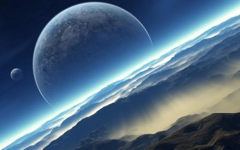 Science-Fiction - Planetenaufgang Wallpapers and Backgrounds ID : 82376