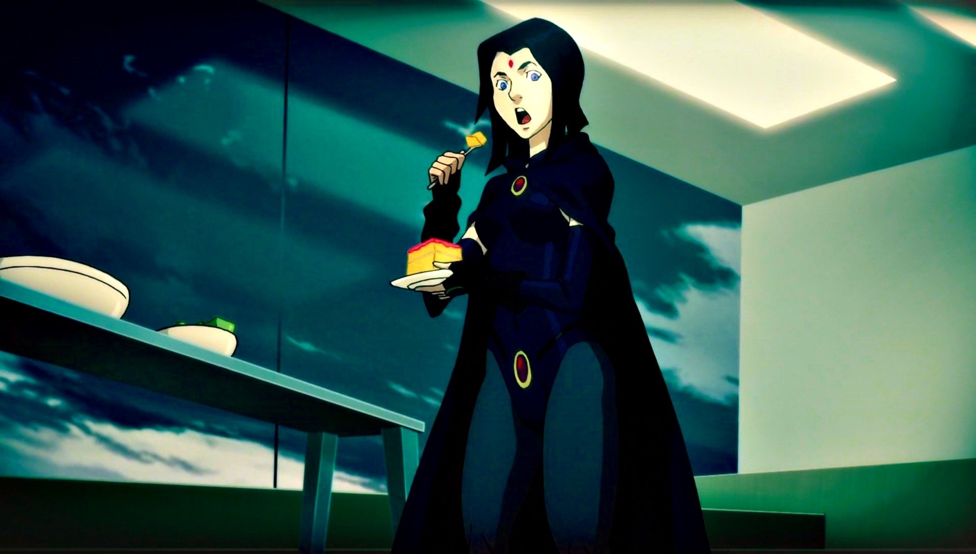 Teen Titans - Raven Hd Wallpaper  Background Image -6990