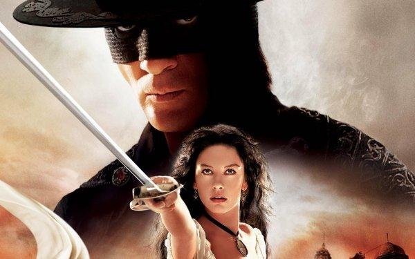 Movie The Legend of Zorro Catherine Zeta-jones Antonio Banderas HD Wallpaper | Background Image