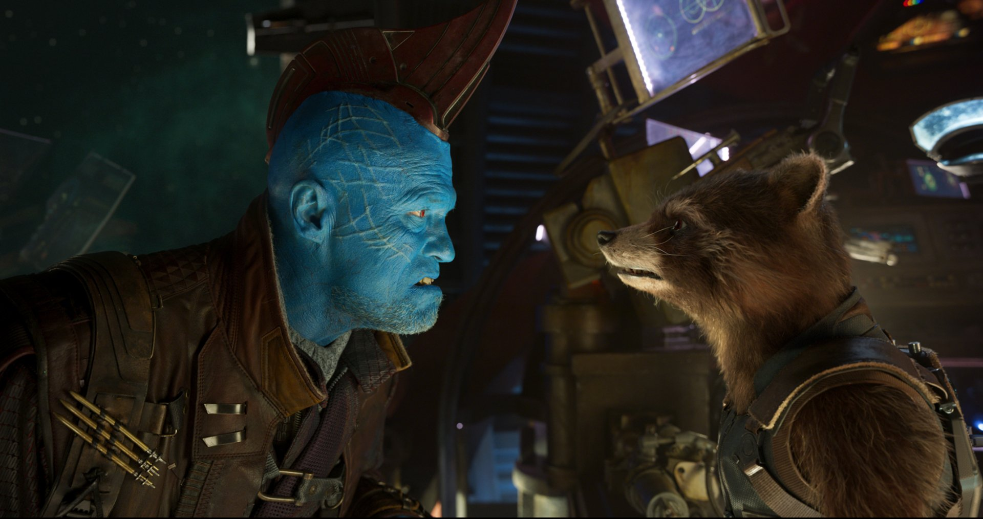 Movie - Guardians of the Galaxy Vol. 2  Michael Rooker Yondu Udonta Rocket Raccoon Wallpaper