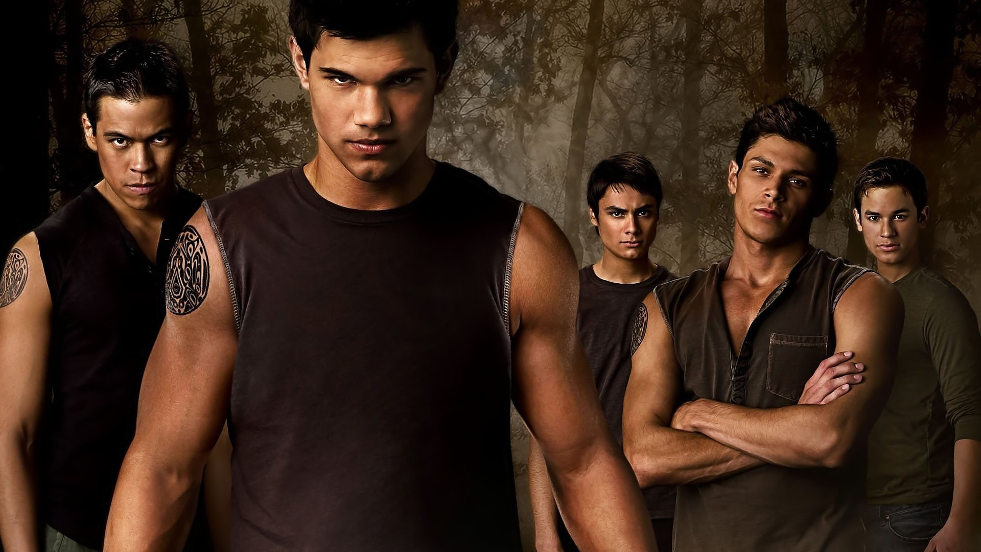 电影 - The Twilight Saga: New Moon  Jacob Black 壁纸
